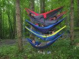 180kg Bearing Capacity Single Person Camping Nylon Hammock
