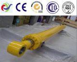 Cilindro idraulico industriale idraulico saldato