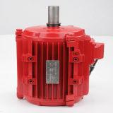 Motor assíncrono trifásico do exaustor das emanações da luta contra o incêndio da carcaça de alumínio