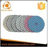 DMD-06 type neuf garnitures de polonais sèches de Fexible de diamant