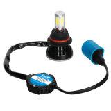 lâmpada do farol do diodo emissor de luz 6500k do caminhão do carro do feixe de 80W 9004 Hi/Lo