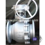 DIN Floating углеродистая сталь / WCB Фланец Шаровой кран