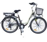Bici elettrica della città con il passo di danza per la donna (JSL-038A)
