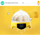 Hhd chaud vendant 7 oeufs hachant haut le mini ce d'incubateur d'oeufs de taux reconnu