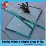 セリウム及びISOは2mm-19mmのゆとりのフロートガラスを証明する