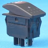 12V Illuminated Carling Marine Rocker Switch