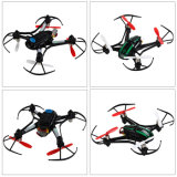 141116V-RC Quadcopter con 0.3MP Camera 2.4G 4CH Remote Control Airphibian Model