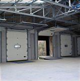 Automatische Isolierindustrielle geschnittentür für das Lager