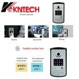 Telefone video acessível Knzd-42vr da porta do sistema SIP VoIP da entrada