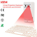 Tastiera infrarossa rossa della proiezione di Bluetooth della tastiera virtuale poco costosa del laser