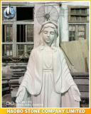 De steen Heilige Gesneden Hand van het Standbeeld van Mary
