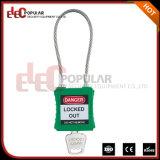 Cadeado de aço barato do cabo da alta segurança com chave mestra