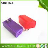 유니버설 12 V 여행 충전기 인조 인간 정제 벽 접합기 충전기를 위한 마이크로 USB 벽 충전기 2 USB 포트