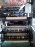 Máquina de corte longitudinal con Rotary estación de troquelado