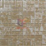 Stampa di seta di marmo come modello a parete e pavimento usate Decorazione Vetro Mosaico (CD463)