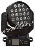 21PCS RGBW 4 in 1 indicatore luminoso capo mobile della lavata del LED