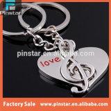 2015 Produits les plus vendus Haute qualité Custom Metal Valentines Day Cadeaux Lovers Musical Keychain Imports chinois Vente en gros