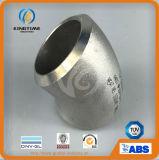 Ajustage de précision de pipe de coude de la LR 45D d'acier inoxydable avec TUV (KT0290)