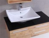 현대 작풍 단단한 나무 오크 미러 목욕탕 허영