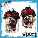 T-shirt 100% en gros de polo de mode de polyester de vêtements de sport pour les hommes