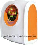 O gerador portátil EW-50BW do concentrador do oxigênio do equipamento médico disponível da terapia de oxigênio para a cor alaranjada dos cuidados médicos Home livra o transporte
