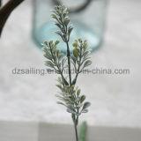 El plástico sale los componentes de la flor artificial para la decoración (SF16925A)