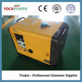 5kw elektrische Diesel van de Macht van het Begin Geluiddichte Generator