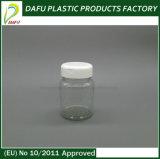 Бутылка микстуры круглой формы любимчика 60ml пластичная
