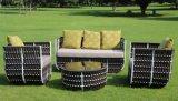 Garten-Freizeit-Möbel-gesetztes modernes europäisches Art-Hotel-Patio-Rattan-aus Weiden geflochtenes im Freiensofa (F868)
