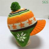 Связанный жаккард способа зимы ягнится шлем Earflap