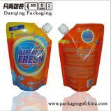 2016の最上質の洗剤D0035を包む包装袋の角のノズル