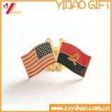 Восхитительные ориентированные на заказчика мягкие значки металла флага эмали