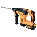 Rotary Hammer Drill with 2 Lithium Batteries and 1 Charger (NZ80)