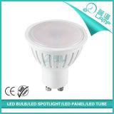 blanco caliente del proyector de 5W 7W GU10 SMD LED