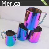 Copo de café / copo de leite colorido em aço inoxidável colorido Latte Art