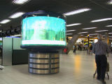 P6.67/P10 Soft Flexible Indoor LED DisplaysかRound /Circle CanはAny Shape LED Module /LED Running Message Displayである
