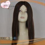 Menschliches Jungfrau Remy Haar-Silk Spitzenfrauen-Perücke