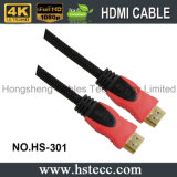 Kabel Doppelt-Farbe Formteil-Kabel des Fabrik-Preis-HDMI M/M