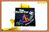 感謝祭のコップの選手権試合のサッカーの技術メダル(JINJU16-085)