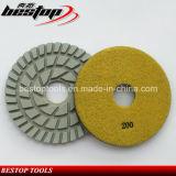 D180mm пусковая площадка пола диаманта 7 дюймов полируя для бетона