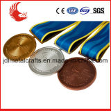Liberare il costo della muffa della medaglia dell'argento dell'oro e di nuoto dell'ottone