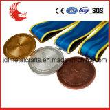 Medaglia dell'argento dell'oro e di nuoto dell'ottone