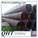 Precio de acero redondo negro soldado LSAW del carbón ERW del horario 40 de Q235B por pedazo