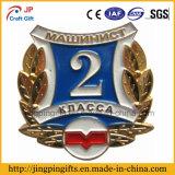 Emblema do Pin de metal de 2016 costumes com impressão para o presente relativo à promoção