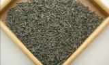 焼かれた緑の茶葉