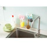 Het plastic Keukengerei van het Rek van de Opslag van de Dekking van de Pot Pan Multifunctionele