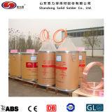 Alambre de baja aleación de acero de baja aleación de acero de soldadura Er70s-6