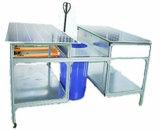 Gst-Und volle automatische Solarbaugruppen-Rand-Zutat, die Maschine entblitzt