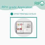 Documento sintetico rivestito resistente della rottura Rph-150 BOPP per i libri dei bambini