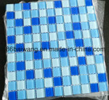 Blaues Farben-Mosaik für Swimmingpool